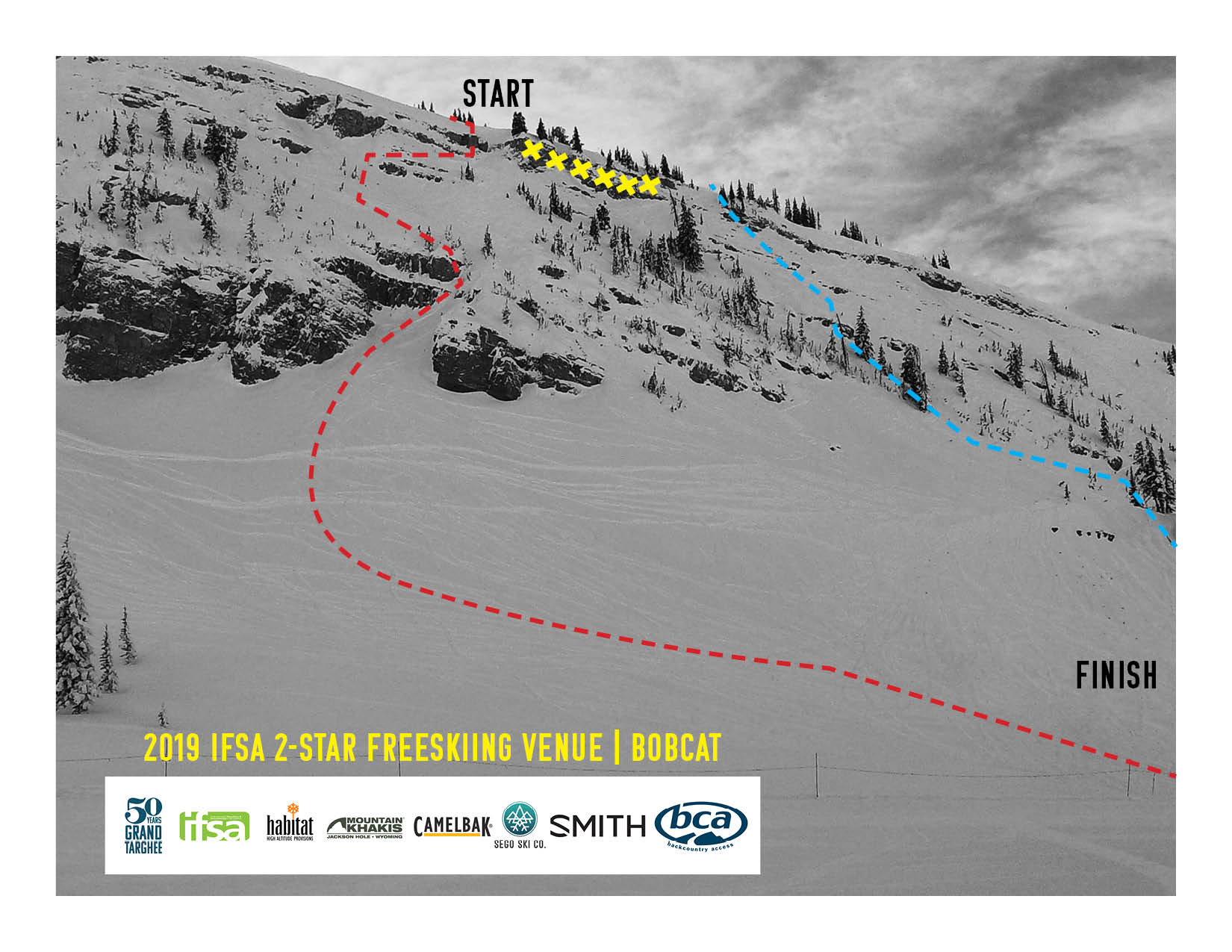 2019 freeski map bobcat