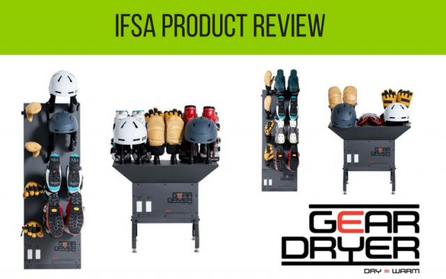 IFSA Gear Review: GearDryer